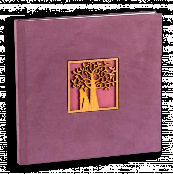 свадебная фотокнига вставка дерево