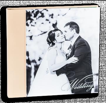 свадебная фотокнига сфотопечатъю на холсте